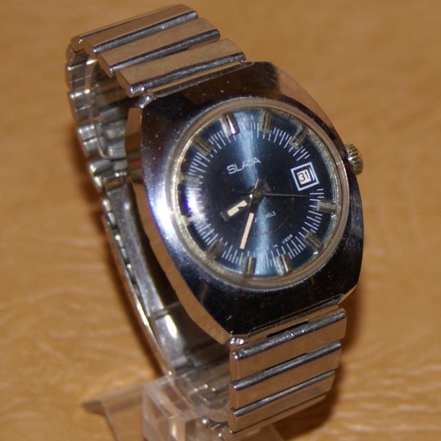 0a8cc3fa5331 Наручные механические часы Слава. Сделано в СССР.